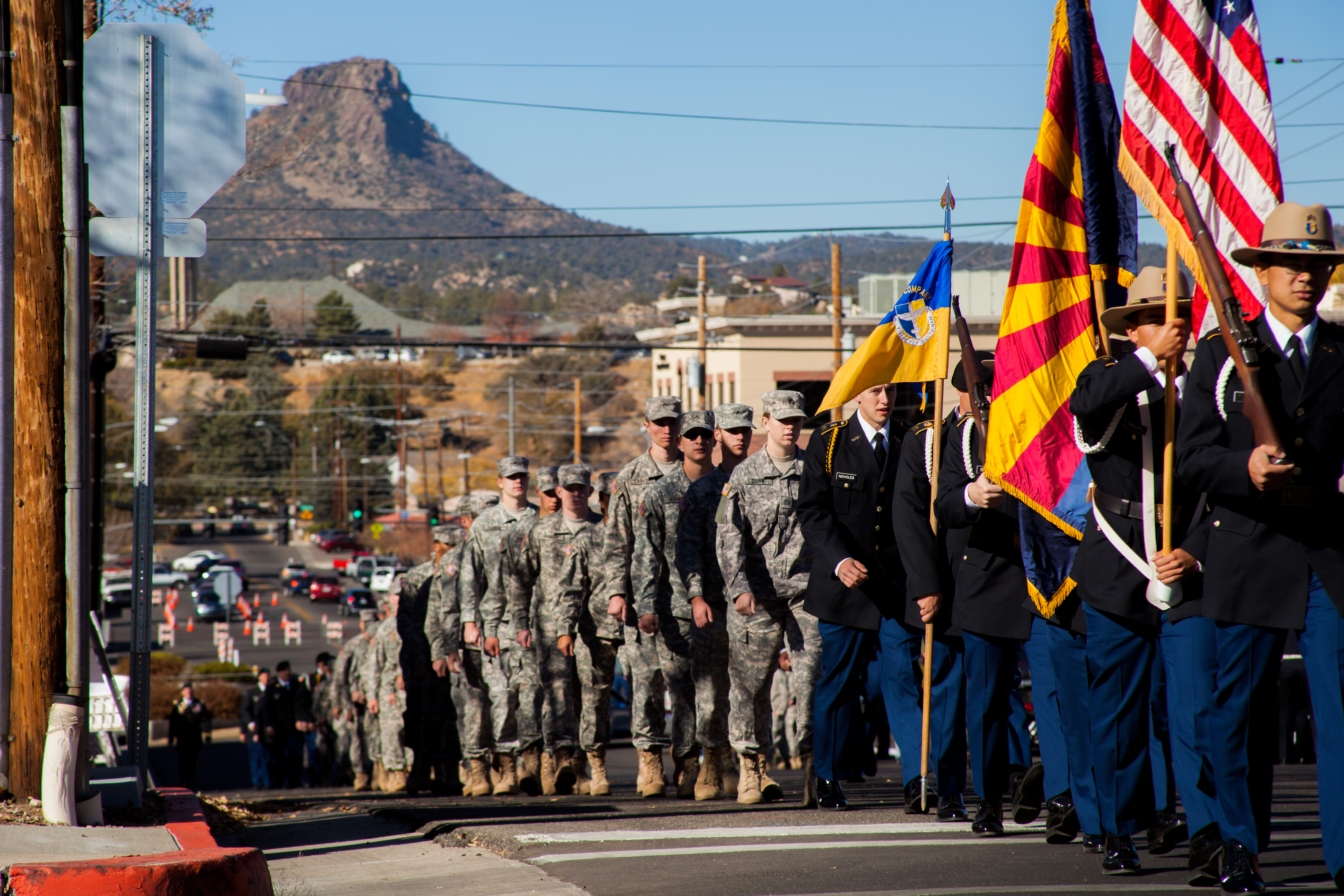 Prescott Arizona Veterans Day Parade 2013